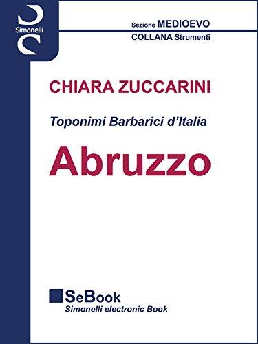 Toponimi Barbarici d'Italia - ABRUZZO