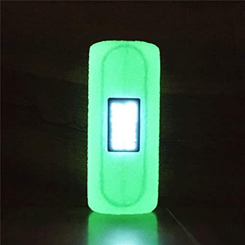 ORIN Custodia Silicone per OBS Cube 80W Starter Kit 3000mAh Box MOD Antiscivolo Non-Slip Protegge Il Gel Custodia Protettiva in Silicone TC MOD Box Cover Case(Illuminano al Buio)