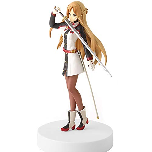 JIAWEI Sword Art Online-Yūki Asuna-Yuuki Asuna-Titania-18.5 cm-SAO-Action-Figur Klassische Cartoon Anime Spiel Kind Modell Statue Dekoration 1