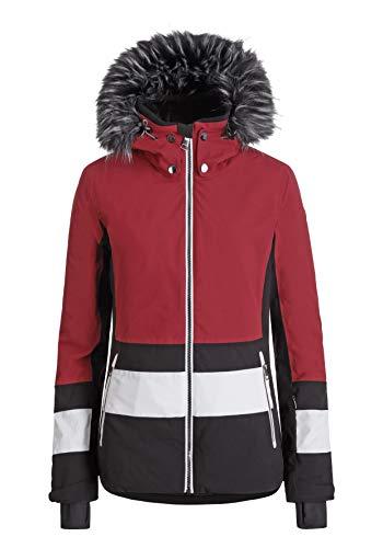 Damen LUHTA ENGMO Jacke, klassisch rot, 40