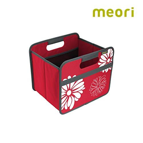 Vouwbox Classic Small Hibiscus rood/bloemen 32x26,5x27,5cm stabiel afwasbaar polyester kwaliteit vrije tijd hobby decoratie spel ordnen rekbox accessoires