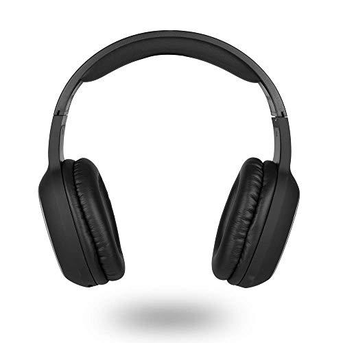 NGS Auriculares INALÁMBRICOS DE Diadema ARTICA Pride Black Compatible con TECNOLOGÍA Bluetooth. MICRÓFONO/7 HRS BATERÍA.Color Negro.