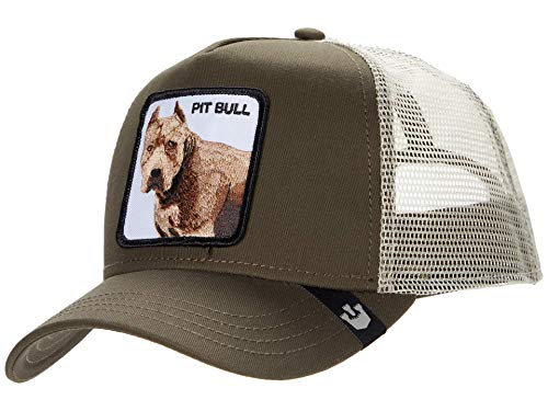 Goorin Bros Trucker Cap Pittbull/Hund Brown - One-Size