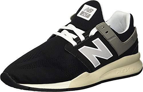 New Balance 247v2, Zapatillas Deportivas. Hombre, Huesos Negros, 42 EU