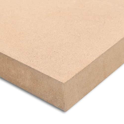 Tablero de 16 mm borde de muebles estanter/ía de artesan/ías de madera con dise/ño de fibra de densidad media de la placa