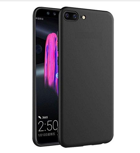 Compatible con Asus Zenfone 4 (ZE554KL) Z01KD Z01KS Z01KS S660 (5.5) Funda protectora blanda gel silicona TPU antiarañazos negro