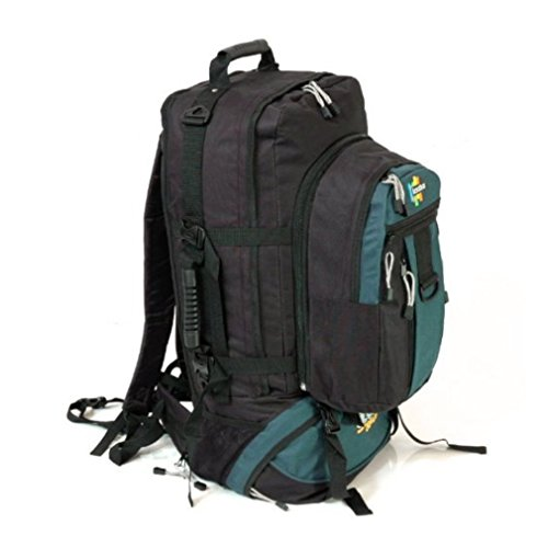 Karabar Globe Traveler 105 liter grote rugzak met afneembare Daypack - 3 jaar garantie!