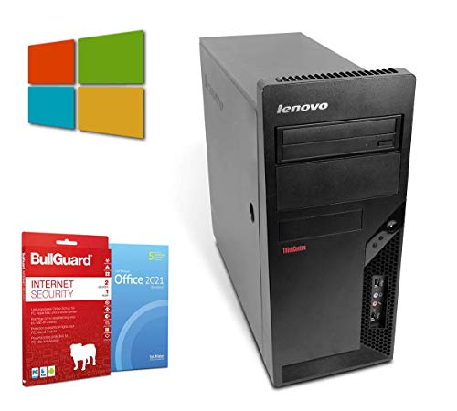 Business Tower PC Computer | Intel Core 2 Duo-E7500@ 2X 2,93 GHz | 4 GB | 500 GB HDD | Windows 10 Pro | BullGuard | SoftMaker Office (Generalüberholt)