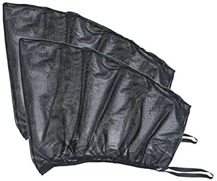 GPFFACAI Parasol Coche Infantil Lateral Parasol de Ventana Lateral de Coche Parasol de Coche Parasol de Ventana Lateral Cubierta de Parasol Protección UV Perspectiva Malla Velcro Accesorios universa