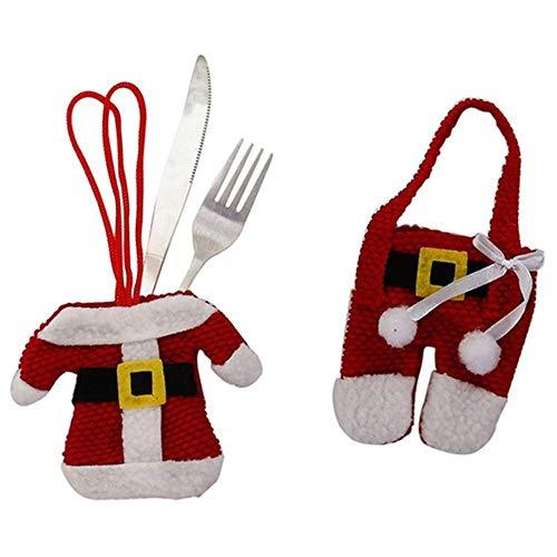 EGLEMTEK Portaposate a Forma di Babbo Natale