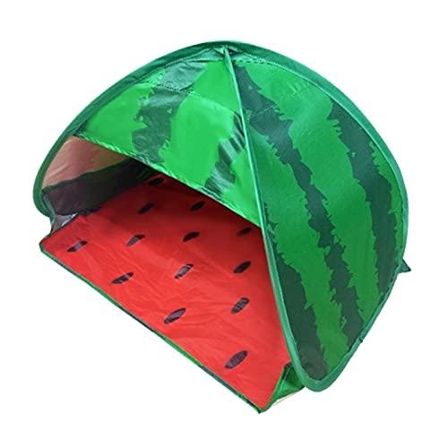 Generic Tenda da Spiaggia da Giardino, Parasole, Parasole, Protezione UV, Nastro Nero, Blu - Melone di Stoffa d'Argento 1