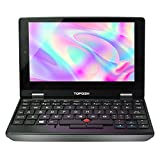 TOPOSH 7 Inch Mini Laptop, Touch Screen Notebook Computer,Windows 10 Pro, 8GB RAM+256GB SSD, Intel Celeron J3455, Quad Core 1.5GHz Processor, Pocket PC for Any Place