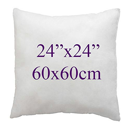 ARLINENS Hollow Fiber Cushion Pads,Inners,Fillers 12',14',16',18',20',22',24',26',28',30' (Pack of 2, 24'x24')