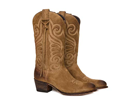 Sendra Boots Bota Western 11627 Debora EN Serraje Usado