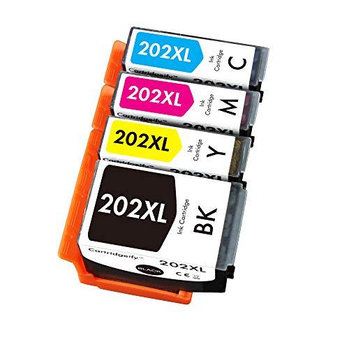 Cartridgeify 202 XL - Cartucce d'inchiostro compatibili con Epson 202 202XL, confezione multipla (non nero fotografico, PB), per Expression Premium XP-6000 XP-6005 XP-6100 XP-6105