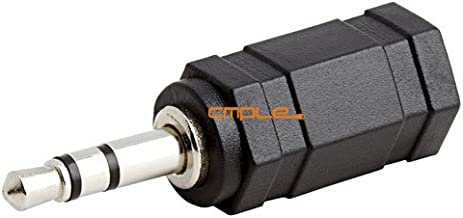 Parts Express 2.5 mm Stereo Female to 3.5 mm Stereo Male Plug Adapter