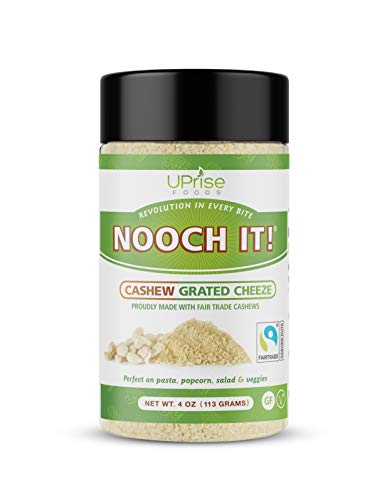 (15% OFF) NOOCH IT! Fair Trade Dairy-Free Cashew Grated Cheeze $8.49 – Coupon Code