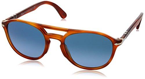 Persol 3170, Gafas de Sol Unisex-Adulto, Terra Di Siena 9041Q8, 52