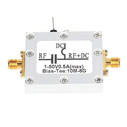 10MHz-6GHz koaxiale Vorspannung T-Frequenz Mikrowellen-koaxiale Vorspannung für Breitband-Funkverstärker-Glasfaserkommunikation