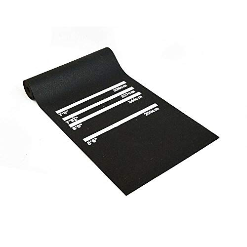 tonchean Heavy Duty Darts Mat with Throw Lines...