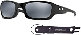Oakley Fives Squared OO9238 Sunglasses For Men+BUNDLE with Oakley Accessory Leash Kit