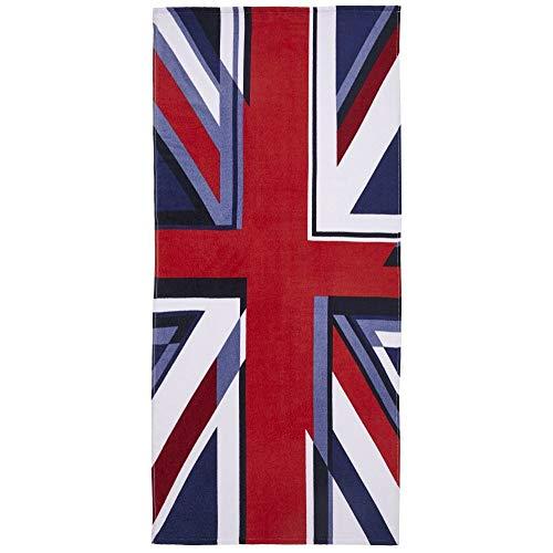 Catherine Lansfield Union Jack Multi Telo Mare 76x 160cm