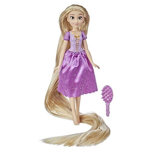 Disney Princess Long Locks Rapunzel, muñeca de Moda con Pelo Rubio de 45 cm de Largo, Juguete de Princesa para niñas de 3 años en adelante
