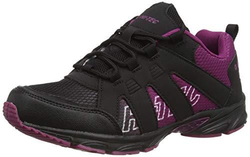 HI-TEC Warrior JRG, Chaussure de Marche, Violet Noir, 35 EU