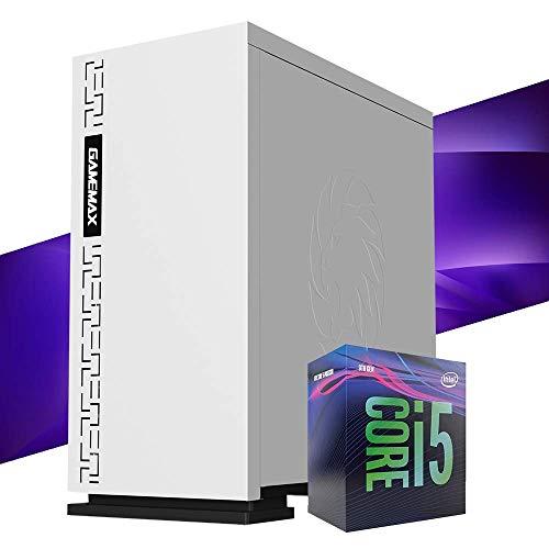 Mak Office R – Ordenador de sobremesa Intel i5 9400 6 Core 4,10 GHz Turbo, SSD 240 GB + HDD 1000 GB, RAM 8 GB DDR4, ordenador de oficina doméstica, HDMI Windows 10, PC montado I5