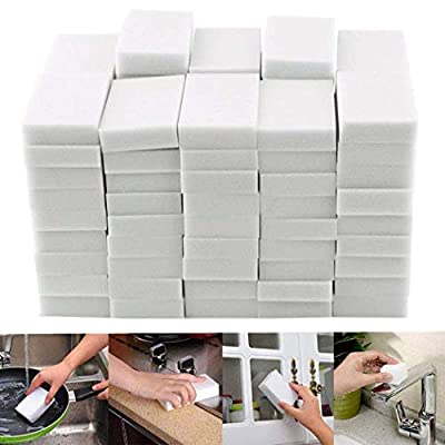 Acecor Magic Cleaning Sponges Eraser, Household Sponge Eraser Cleaner Foam Cleaning for Kitchen, Furniture, Car, Leather