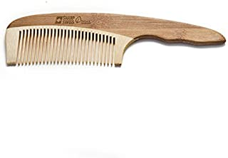 SHARPSWISS No Static Handle Wooden Hair Comb [並行輸入品]