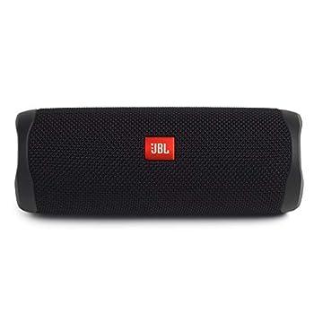 JBL Flip 5 Waterproof Portable Bluetooth Speaker - Black  Renewed