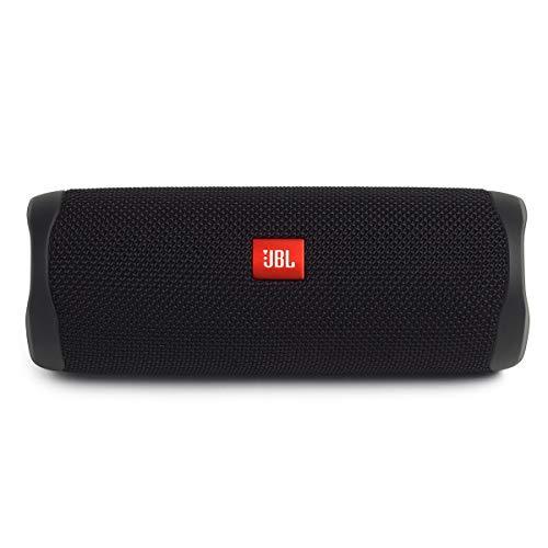 JBL Flip 5 Waterproof Portable Bluetooth Speaker - Black (Renewed)