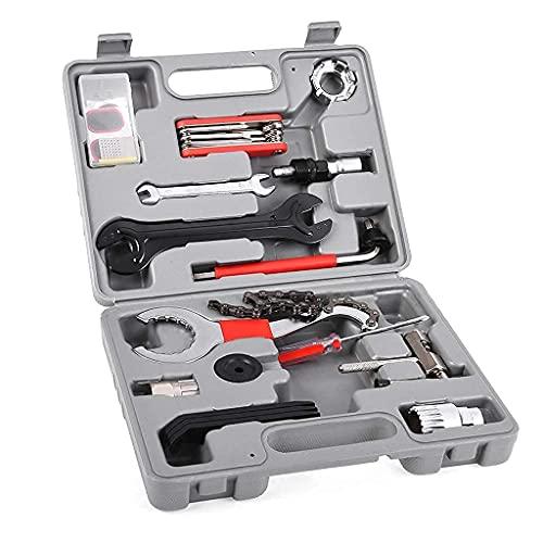 YQG Uhren-Reparatur-Werkzeug-Set, professionelles Fahrrad-Werkzeug, universell, für Zuhause, Outdoor, Multifunktions-Reparatur-Set, Fahrrad-Werkzeug-Set, Uhren