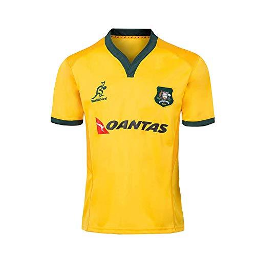 Australien Rugby Trikot Rugby Shirt, Gedenkfan Casual Sportswear-XXL