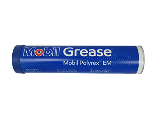 Mobil Polyrex EM Electric Motor Bearing Grease, Blue, 13.7 oz. Tube