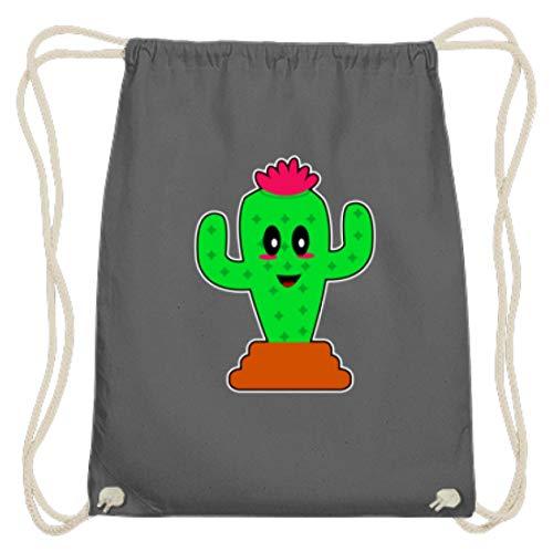 Cactus hippie indios – Diseño sencillo y divertido para gente guay – Bolsa de gimnasio de algodón, color, talla 37cm-46cm