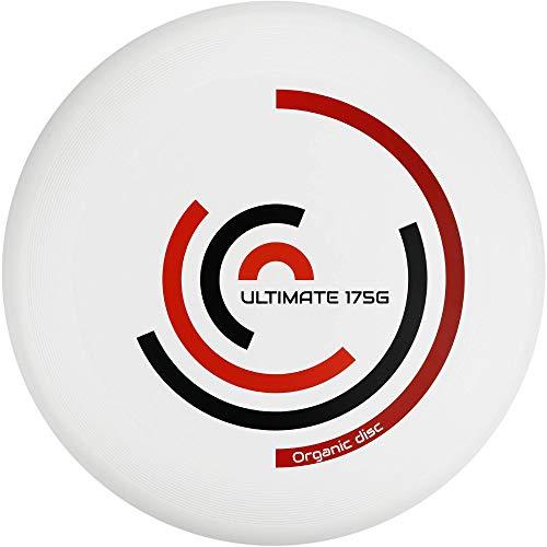 Eurodisc Ultimate Frisbee 175g Rotation wettkampfharte Wurfscheibe mit Stabiler Flugbahn über 100 Meter für Freizeitspieler und Profis gleichermaßen (Cardinal)