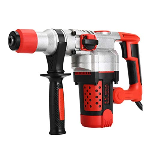 LPYZYFZD Impact Drill Battery Cordless Electric Hammer Electric Hand Drill Home Professional Concrete Industrial Grade Professional Tools (Color : Heavy Duty(No Drill))