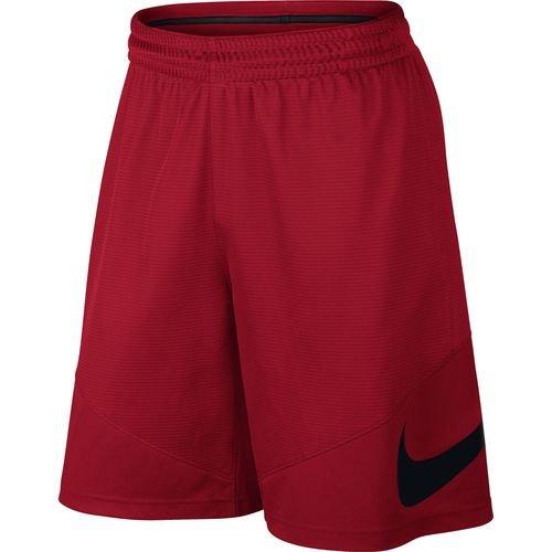 Nike M NK HBR Short-Pantaloncini da uomo, Rosso (Nero), XL