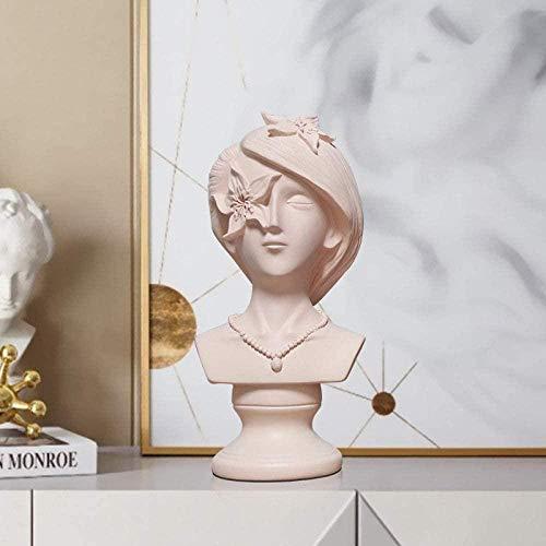 Escultura Decorativa Salon,Estatuas Para La Oficina Escultura Creativa De Niña De Las...
