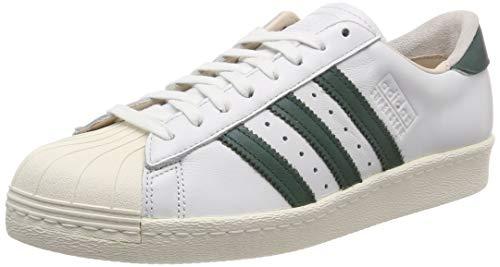 adidas Superstar 80S Recon, Zapatillas de Gimnasia para Hombre, Blanco (Crystal White/Collegiate Green/Off White 0), 37 1/3 EU