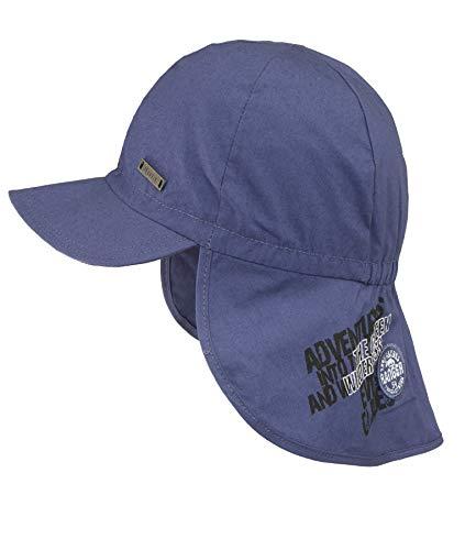 Döll Baby-Jungen Baseballmütze mit Nackenschutz Kappe, Blau (Total Eclipse|Blue 3000), 49