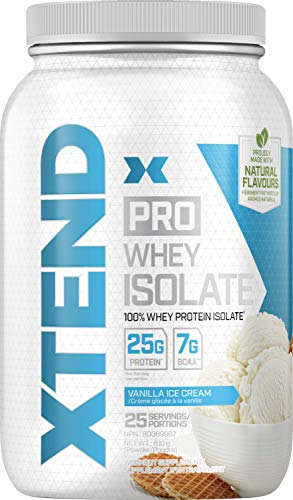 SCIVATION Pro Isolate Vanilla Ice Cream, 907 g