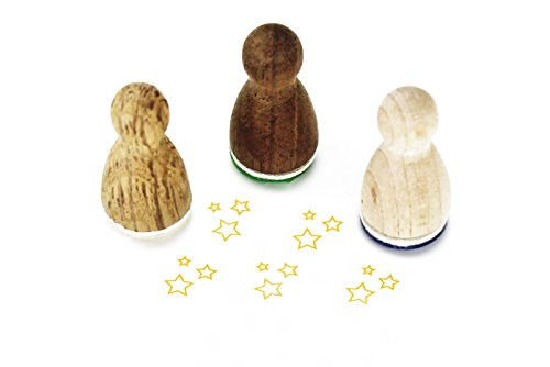 Stemplino Mini Stempel Kleine Sterne