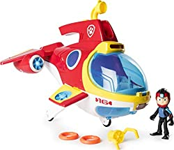 Join Ryder on exciting new missions with the Paw Patrol's newest team vehicle: the Sub Patroller! Featuring flashing lights and sounds, this vehicle is ready for adventure! Use the launcher to shoot life rings and save baby animals! Push the periscop...