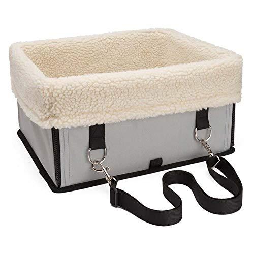 Hondenautostoel, waterdichte, ademende huisdierhondenkatten-autostoel, draagbare luxe reistas voor kleine hondenwelpen 40 * 35 * 23cm E