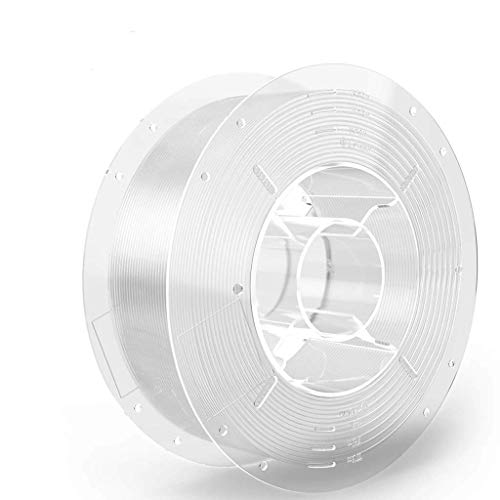SainSmart - Filamento PRO-3 para impresora 3D sin enredos, 1,75 mm, tereftalato de polietilenglicol transparente, bobina de 1 kg, precisión dimensional de aprox. 0,02 mm