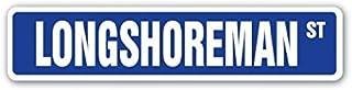 LONGSHOREMAN Street Sticker Stevedore Dockworker Docker Dock Labourer Wharfie ILWU - Sticker Graphic - Sticks to any smooth surface