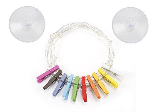 Kikkerland Mini Clothespin String Lights (LT17-EU)